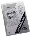 Colby Clear Cover A3 12 Page Display Book CLEAR