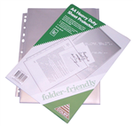 Colby Folder Friendly A4 Heavy Duty Sheet Protector CLEAR
