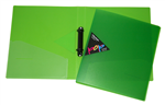 Pop A4 2 Ring Binder LIME