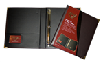 Waterville Executive 3 Ring Binder BLACK