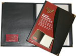 Waterville Executive Display Book BLACK